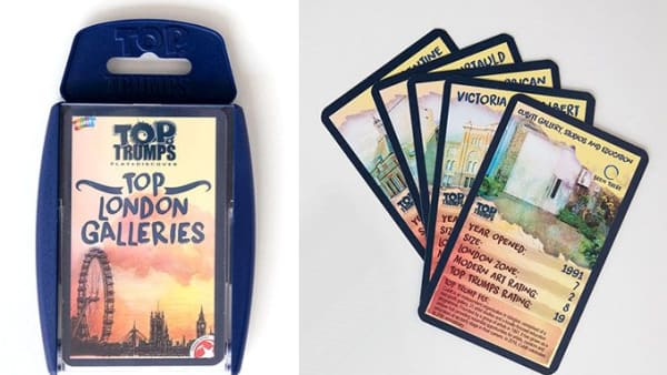Top Trumps: Top London Galleries