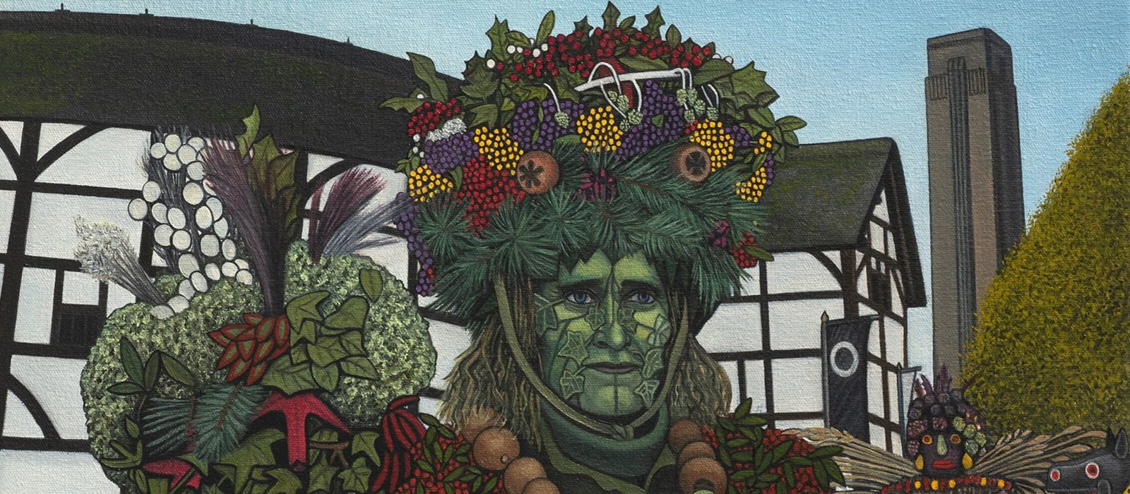 Ben Edge The Greenman of Bankside (2019)